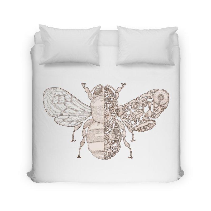 Bee sci-fi Home Duvet by makapa's Artist Shop