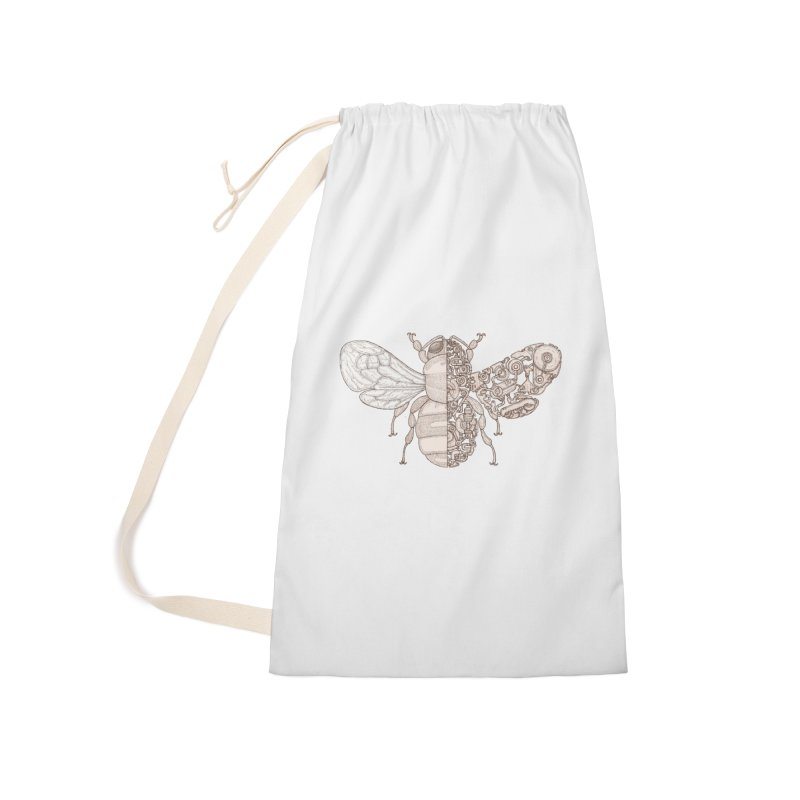 Bee sci-fi Accessories Laundry Bag Bag by makapa's Artist Shop