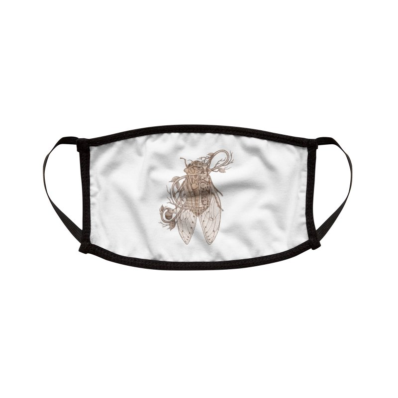 Anatomy of cicada Accessories Face Mask by makapa's Artist Shop