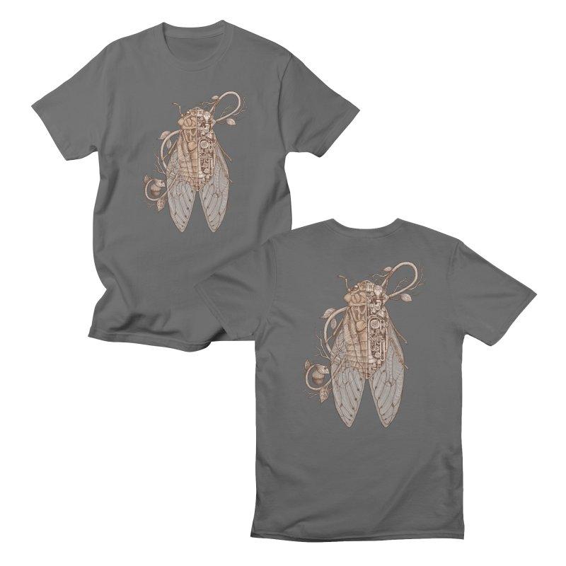 Anatomy of cicada Men's T-Shirt by makapa's Artist Shop