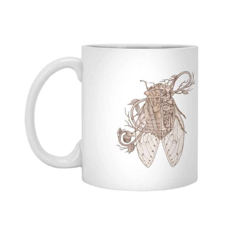 Anatomy of cicada Accessories Mug by makapa's Artist Shop