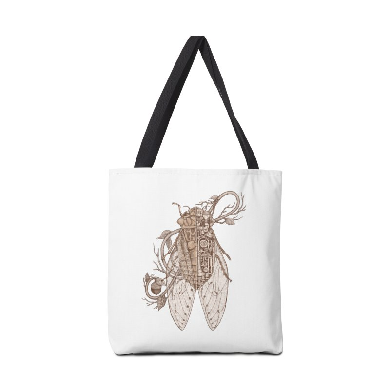 Anatomy of cicada Accessories Tote Bag Bag by makapa's Artist Shop