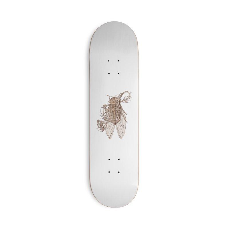 Anatomy of cicada Accessories Skateboard by makapa's Artist Shop