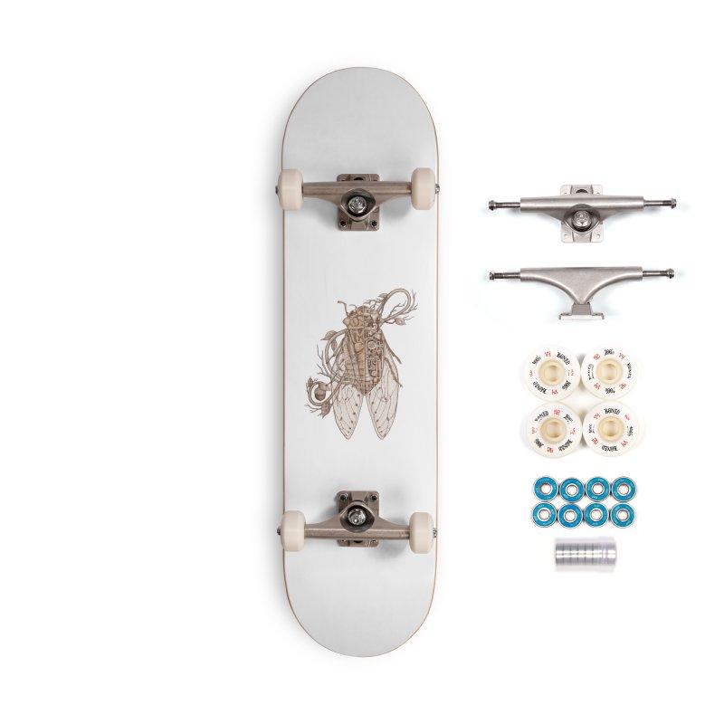 Anatomy of cicada Accessories Complete - Premium Skateboard by makapa's Artist Shop