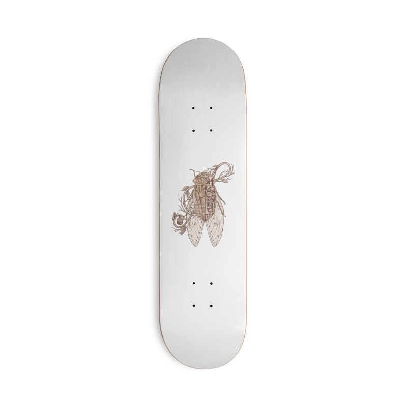 Anatomy of cicada Accessories Deck Only Skateboard by makapa's Artist Shop