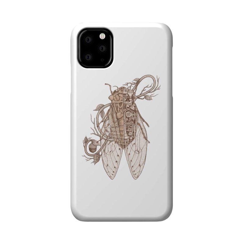 Anatomy of cicada Accessories Phone Case by makapa's Artist Shop