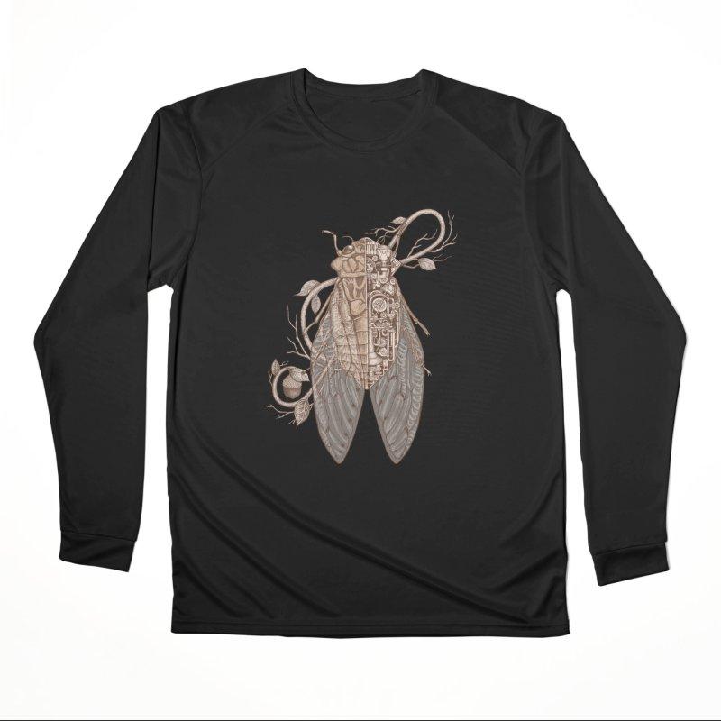 Anatomy of cicada Men's Performance Longsleeve T-Shirt by makapa's Artist Shop