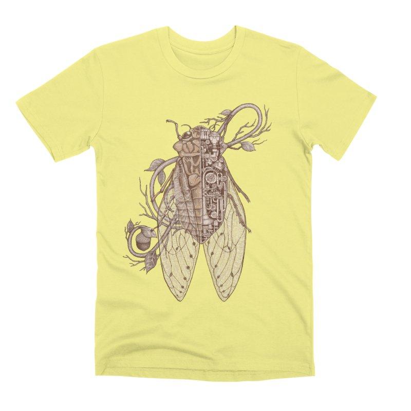 Anatomy of cicada Men's Premium T-Shirt by makapa's Artist Shop