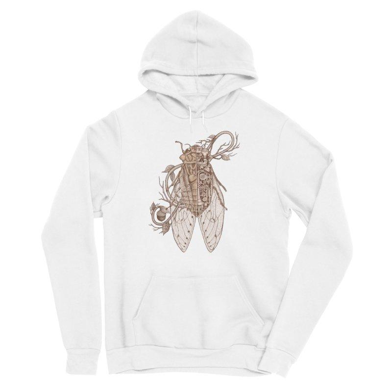 Anatomy of cicada Women's Sponge Fleece Pullover Hoody by makapa's Artist Shop