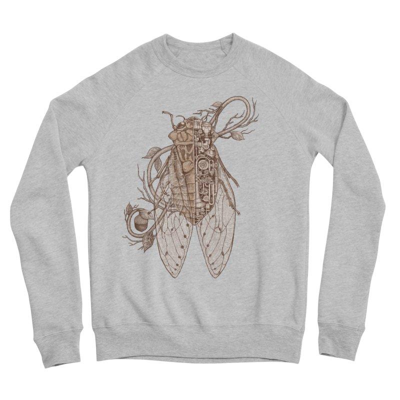 Anatomy of cicada Women's Sponge Fleece Sweatshirt by makapa's Artist Shop
