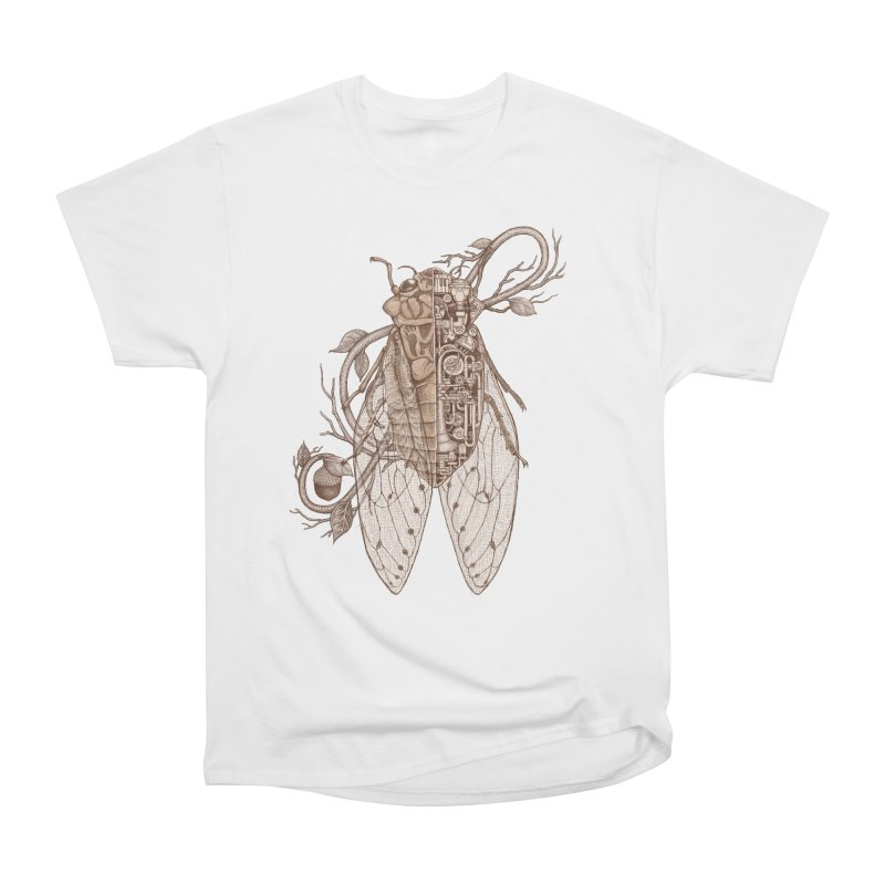 Anatomy of cicada Men's Heavyweight T-Shirt by makapa's Artist Shop