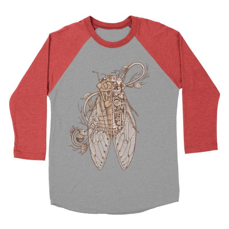 Anatomy of cicada Women's Baseball Triblend Longsleeve T-Shirt by makapa's Artist Shop
