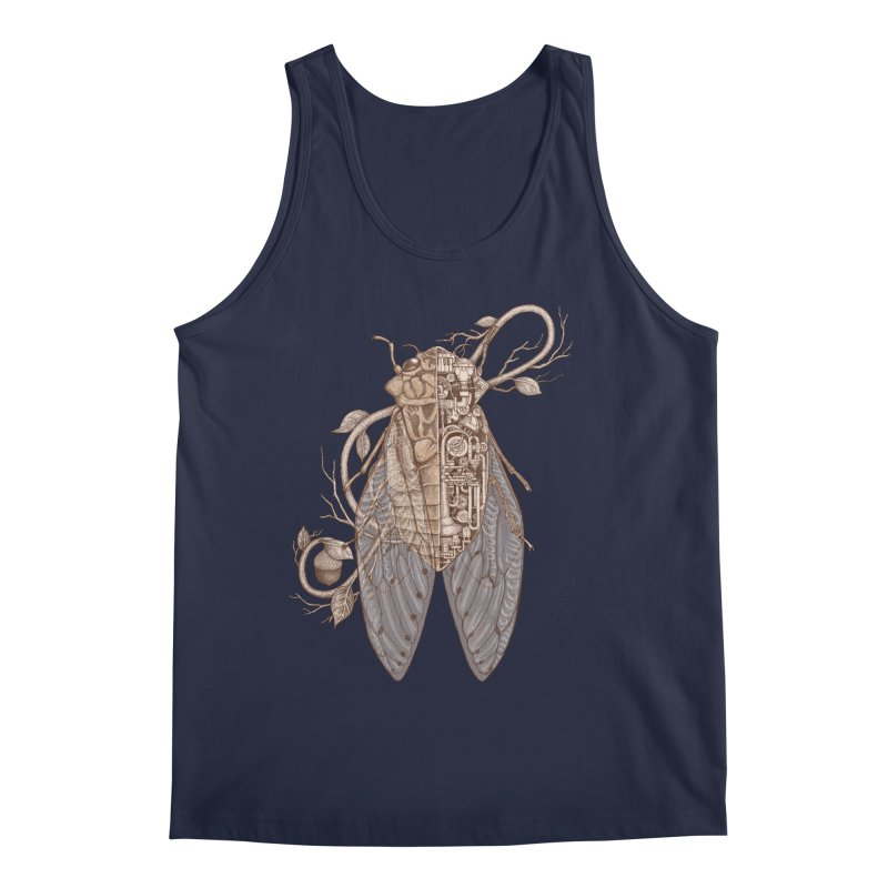 Anatomy of cicada Men's Regular Tank by makapa's Artist Shop