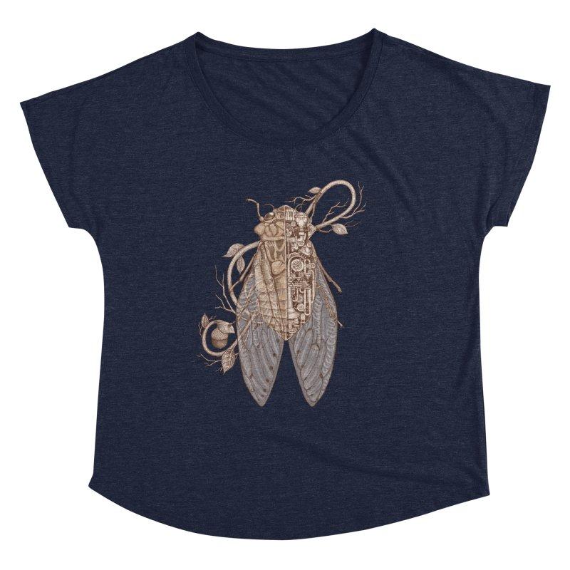 Anatomy of cicada Women's Dolman Scoop Neck by makapa's Artist Shop