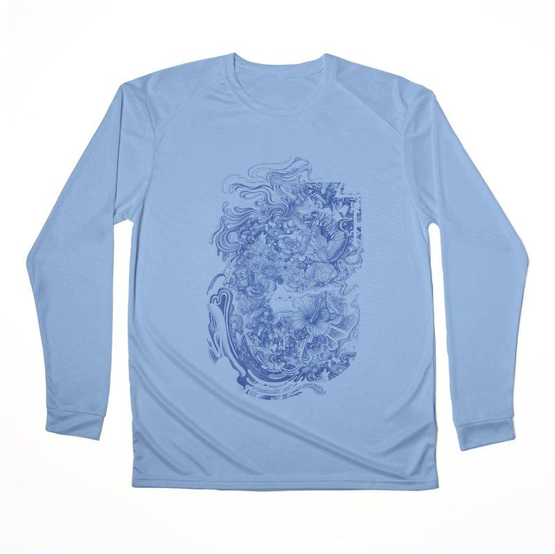 Dream on dream Men's Performance Longsleeve T-Shirt by makapa's Artist Shop