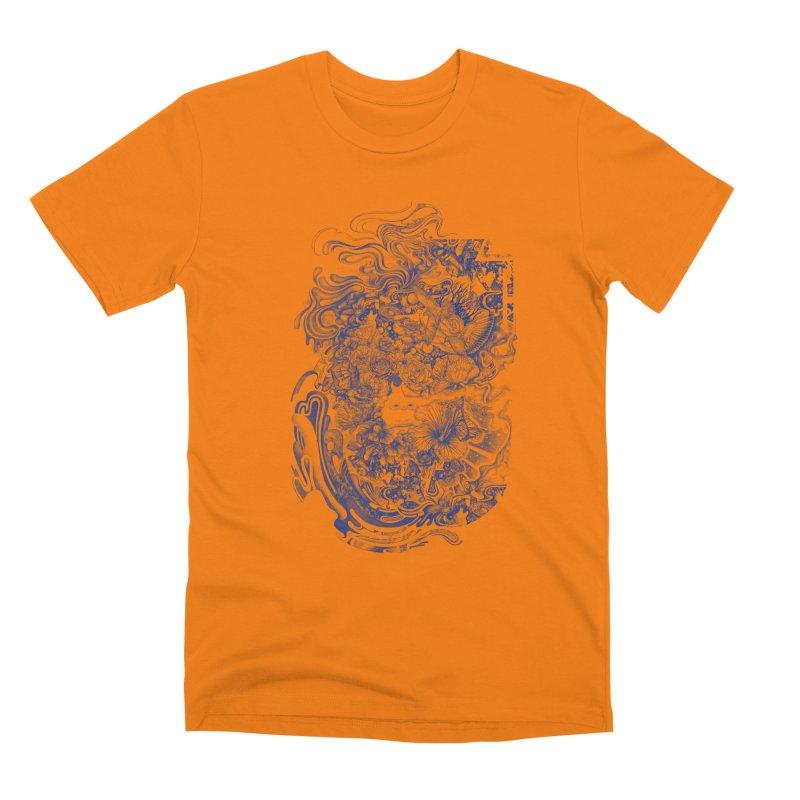 Dream on dream Men's Premium T-Shirt by makapa's Artist Shop