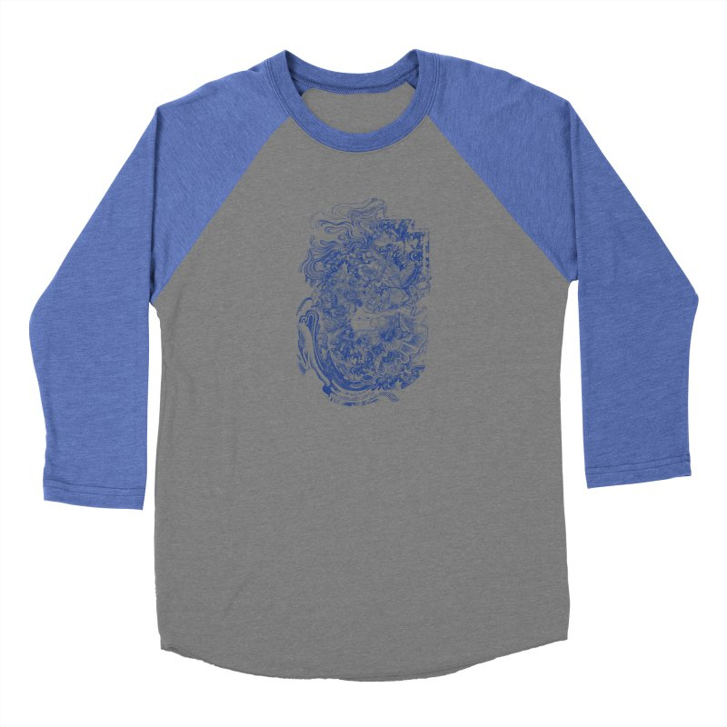 Dream on dream Women's Baseball Triblend Longsleeve T-Shirt by makapa's Artist Shop