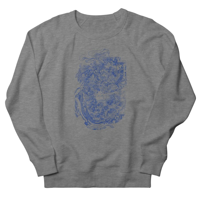 Dream on dream Men's French Terry Sweatshirt by makapa's Artist Shop