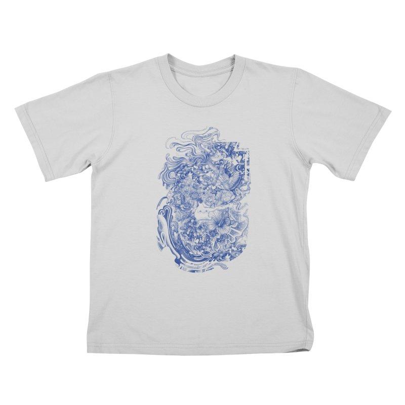 Dream on dream Kids T-Shirt by makapa's Artist Shop