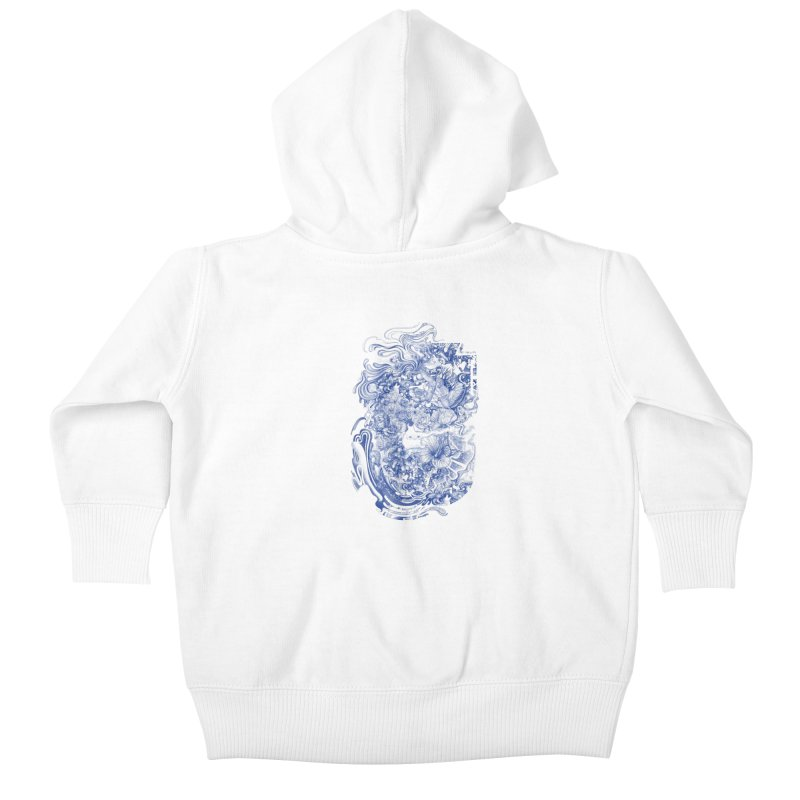 Dream on dream Kids Baby Zip-Up Hoody by makapa's Artist Shop