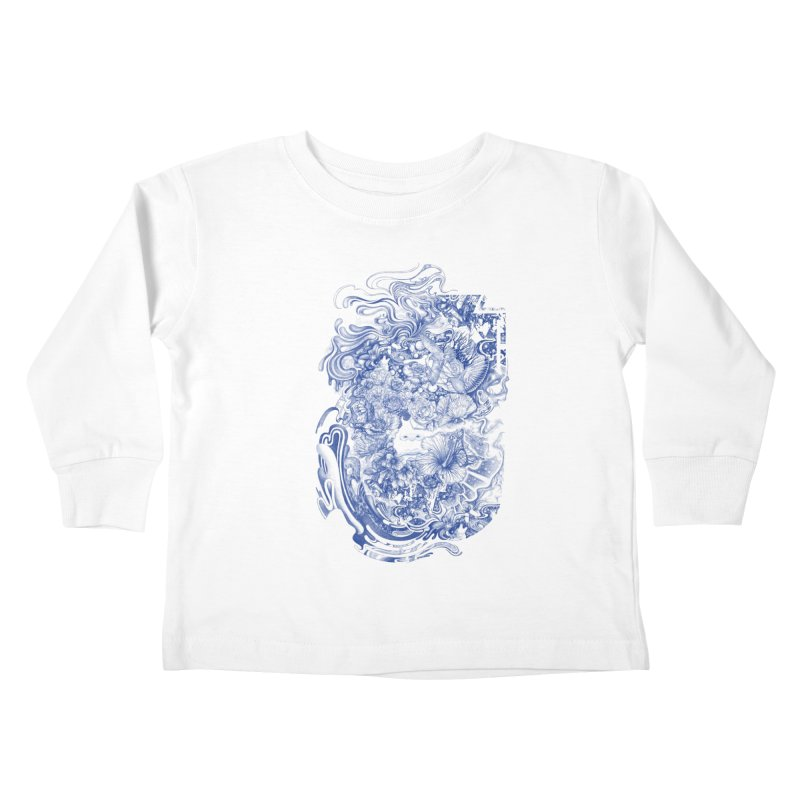 Dream on dream Kids Toddler Longsleeve T-Shirt by makapa's Artist Shop