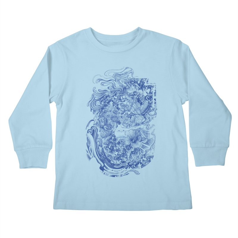 Dream on dream Kids Longsleeve T-Shirt by makapa's Artist Shop