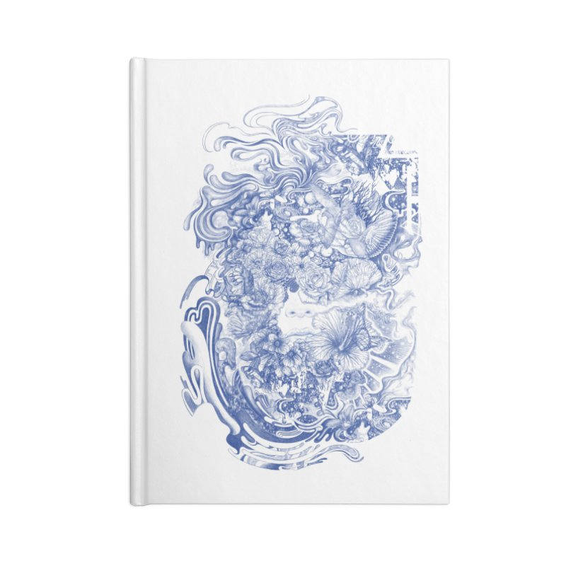 Dream on dream Accessories Lined Journal Notebook by makapa's Artist Shop
