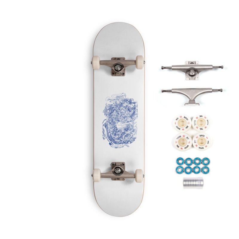 Dream on dream Accessories Complete - Premium Skateboard by makapa's Artist Shop