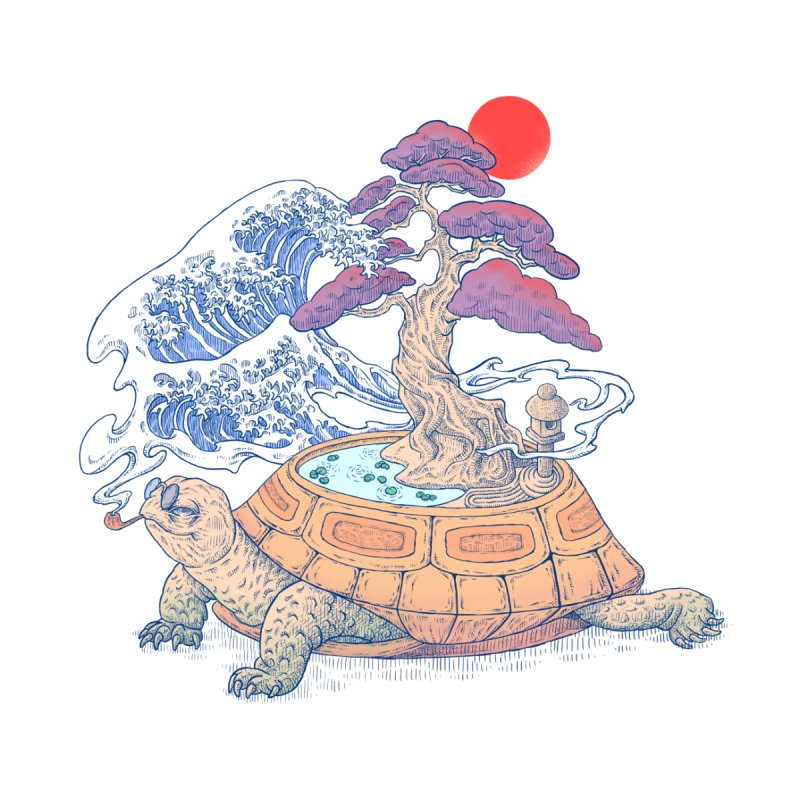 Turtle garden by makapa's Artist Shop