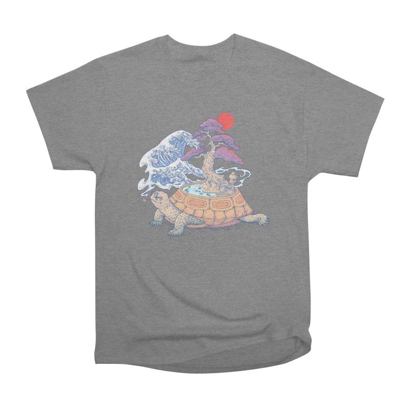 Turtle garden Women's Heavyweight Unisex T-Shirt by makapa's Artist Shop