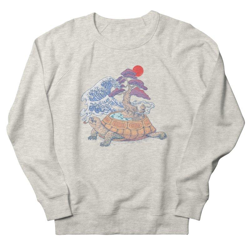 Turtle garden Women's French Terry Sweatshirt by makapa's Artist Shop