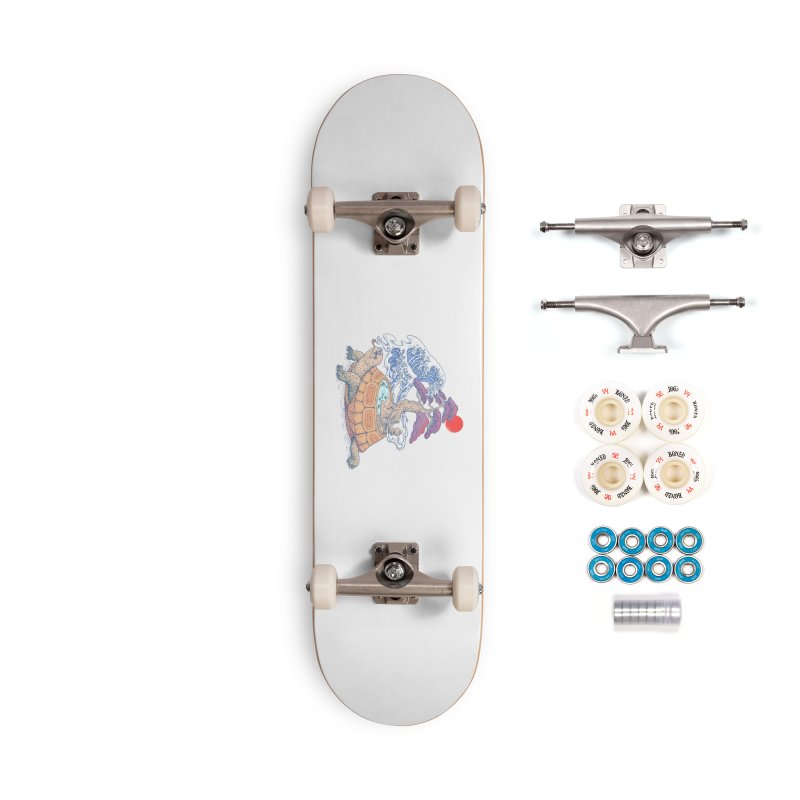 Turtle garden Accessories Complete - Premium Skateboard by makapa's Artist Shop