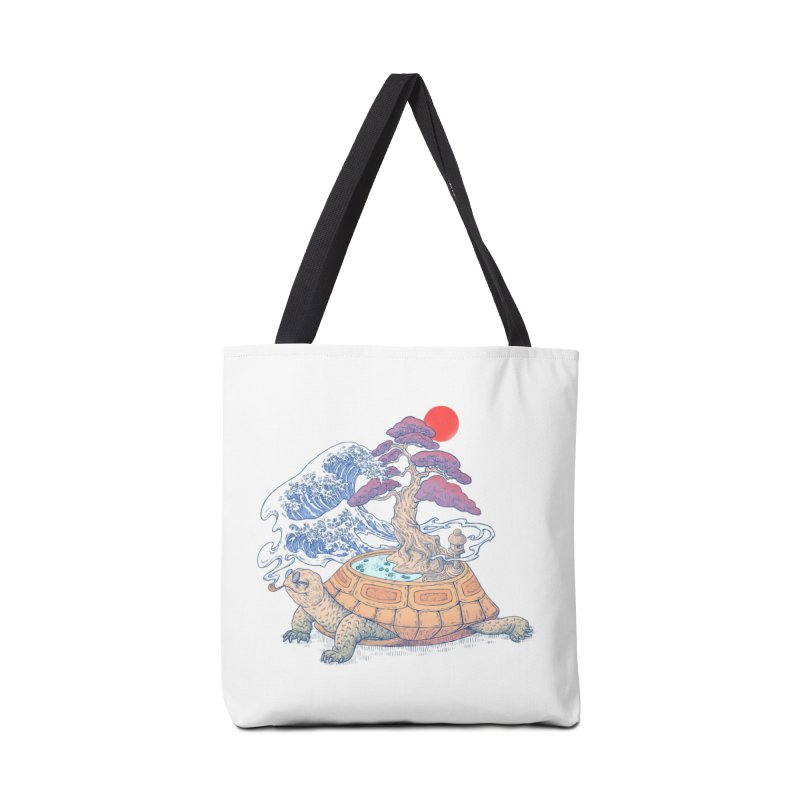 Turtle garden Accessories Tote Bag Bag by makapa's Artist Shop