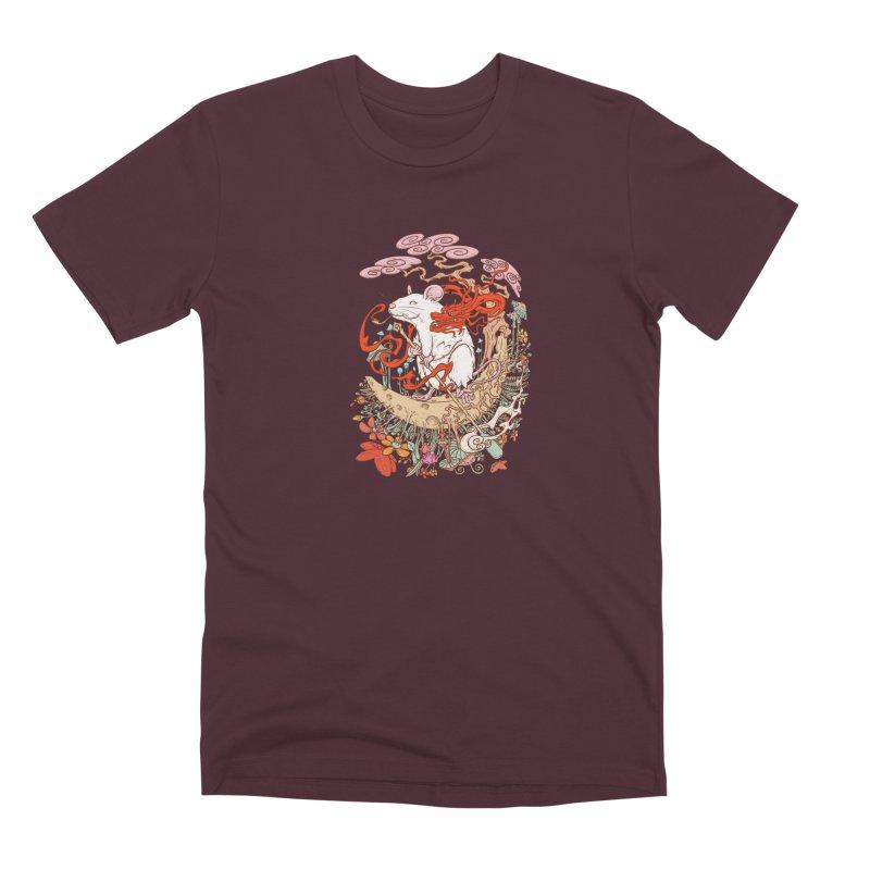 The king of rat Men's Premium T-Shirt by makapa's Artist Shop