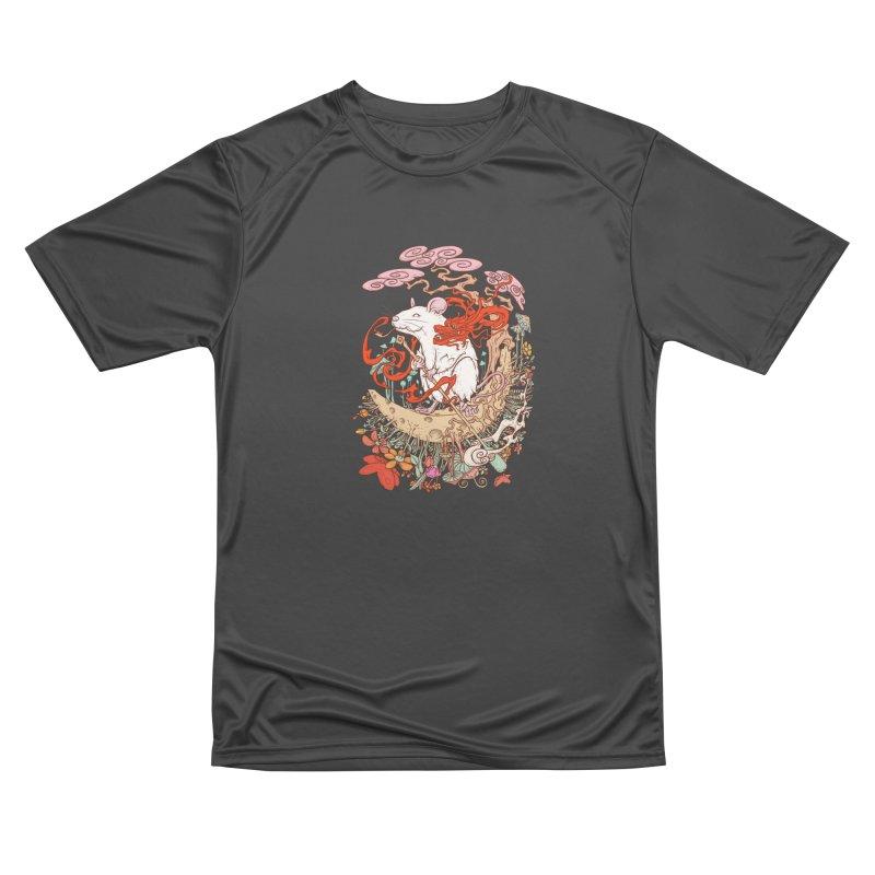 The king of rat Men's Performance T-Shirt by makapa's Artist Shop