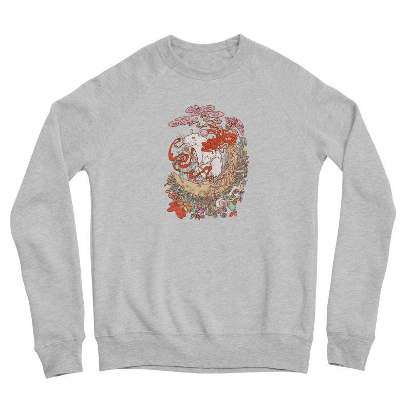 The king of rat Women's Sponge Fleece Sweatshirt by makapa's Artist Shop
