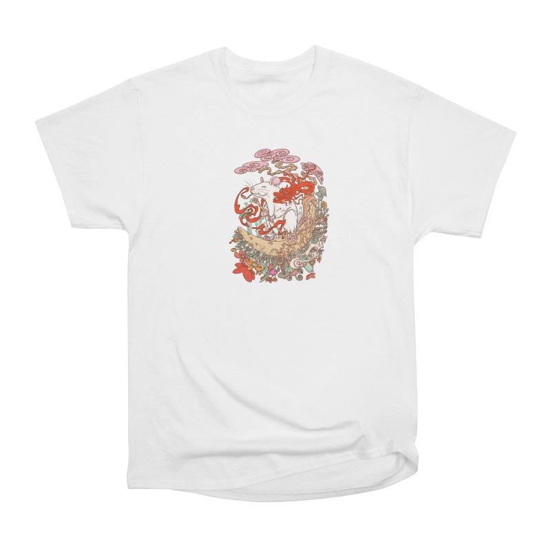 The king of rat Women's Heavyweight Unisex T-Shirt by makapa's Artist Shop