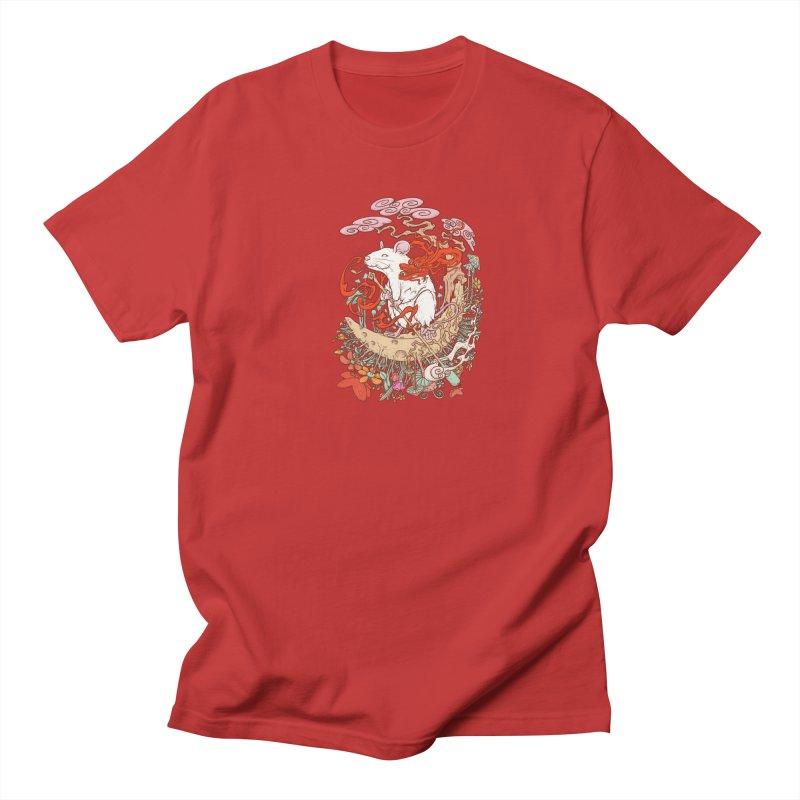 The king of rat Men's Regular T-Shirt by makapa's Artist Shop