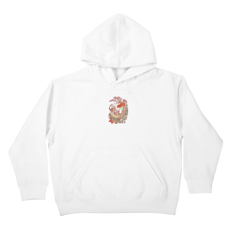 The king of rat Kids Pullover Hoody by makapa's Artist Shop