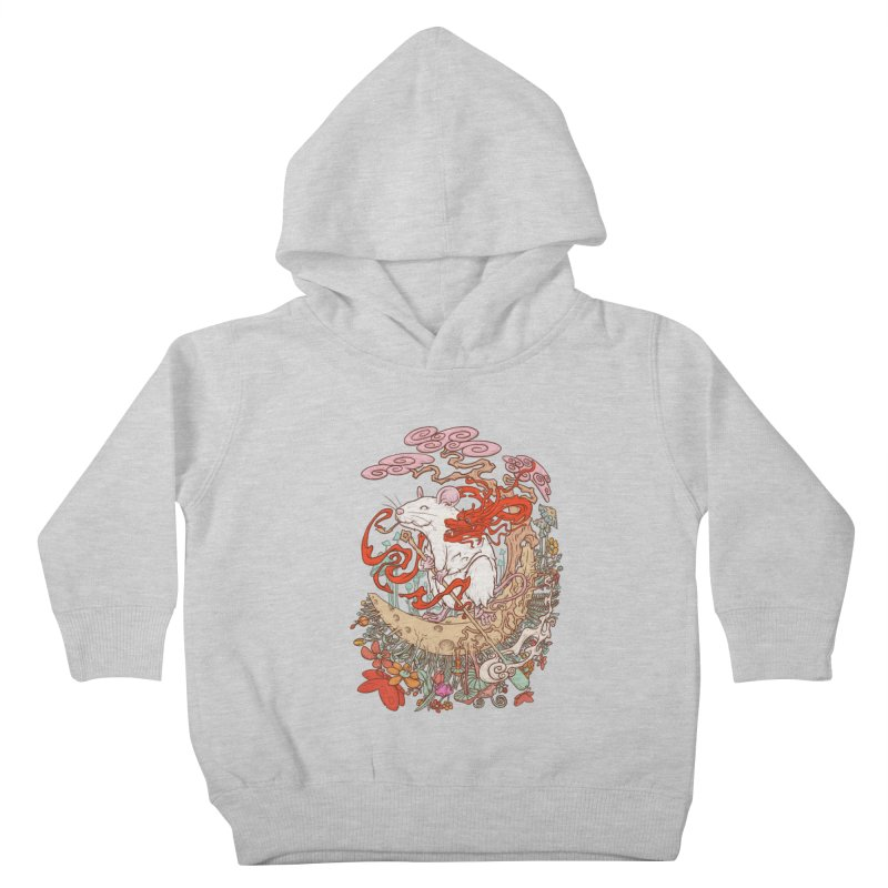 The king of rat Kids Toddler Pullover Hoody by makapa's Artist Shop