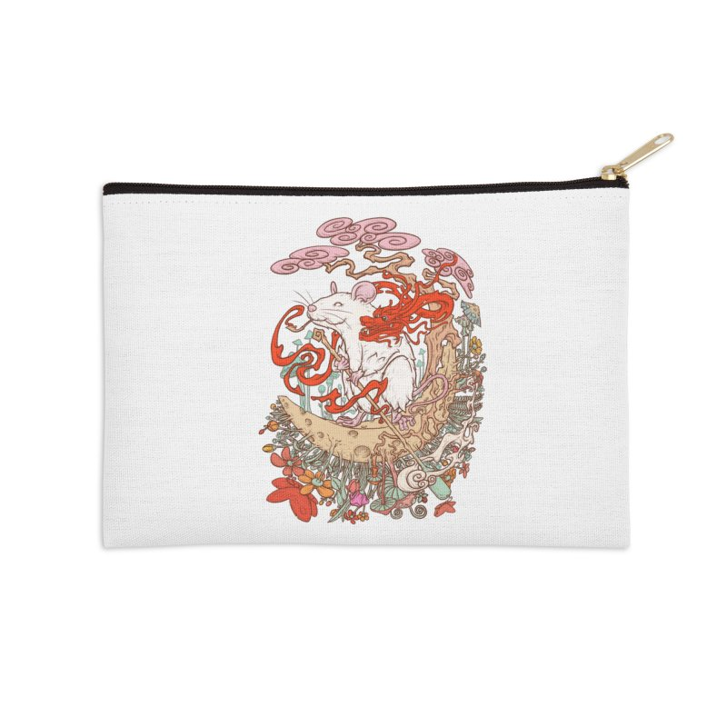 The king of rat Accessories Zip Pouch by makapa's Artist Shop
