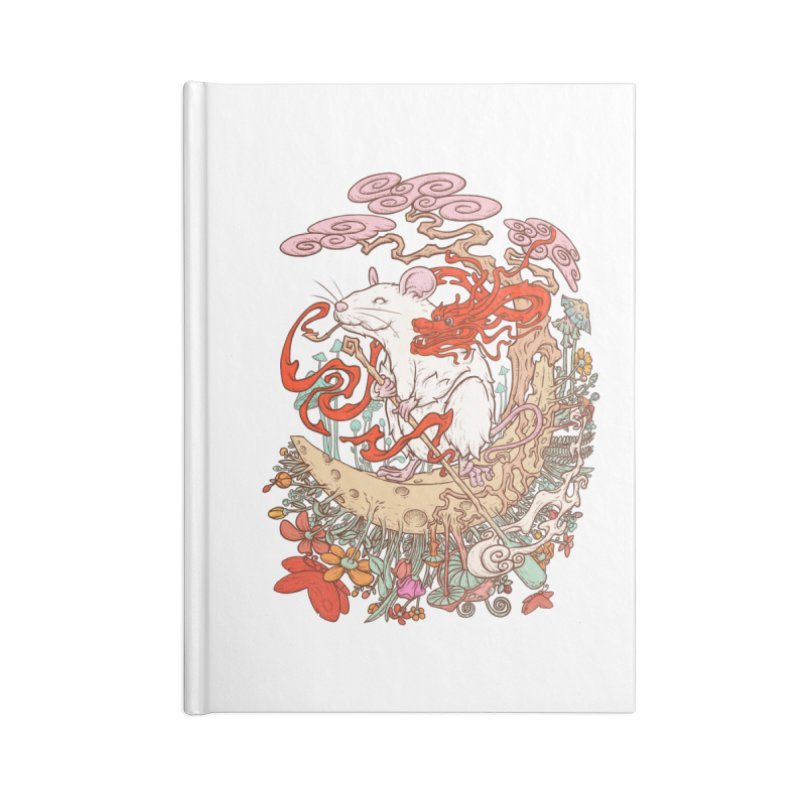 The king of rat Accessories Lined Journal Notebook by makapa's Artist Shop