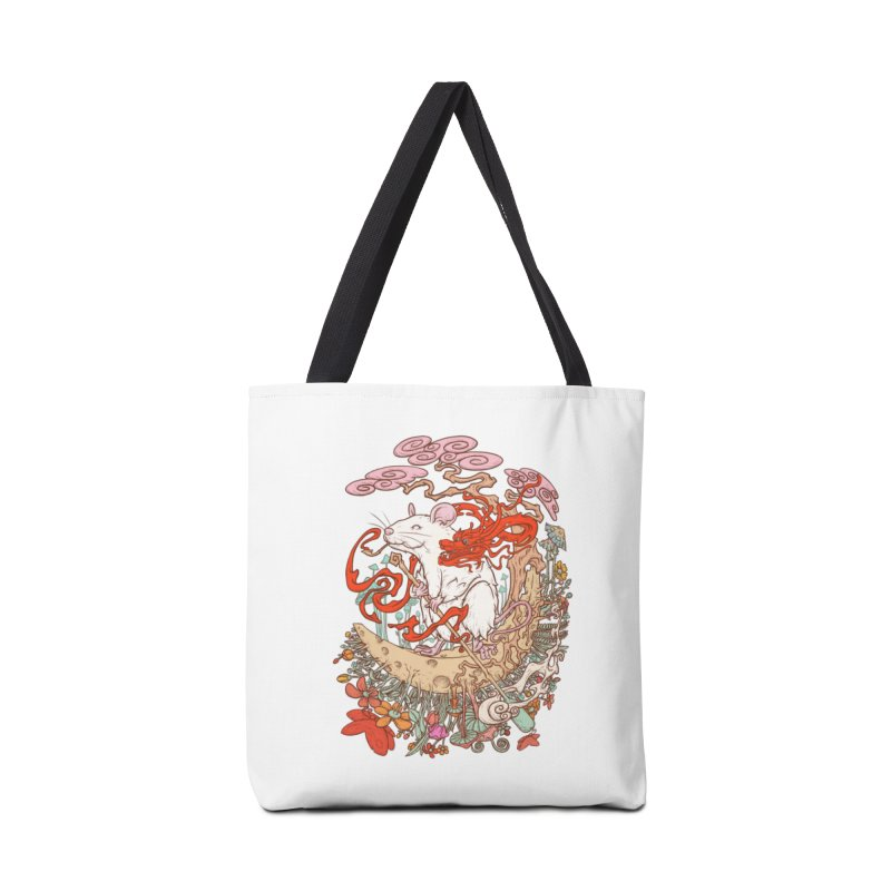 The king of rat Accessories Tote Bag Bag by makapa's Artist Shop