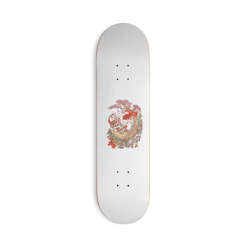 The king of rat Accessories Deck Only Skateboard by makapa's Artist Shop