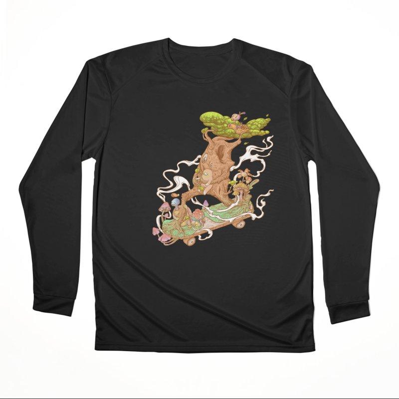 The wood holiday Men's Performance Longsleeve T-Shirt by makapa's Artist Shop