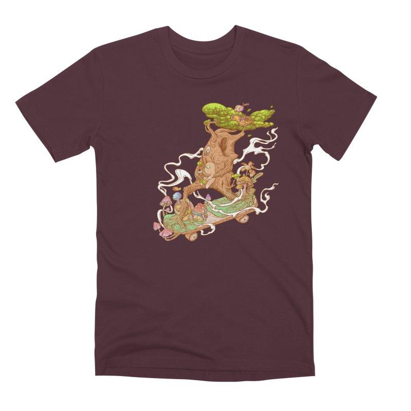 The wood holiday Men's Premium T-Shirt by makapa's Artist Shop