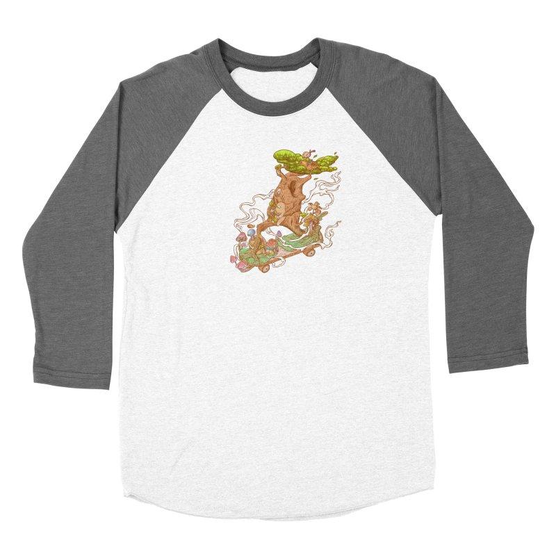 The wood holiday Women's Baseball Triblend Longsleeve T-Shirt by makapa's Artist Shop