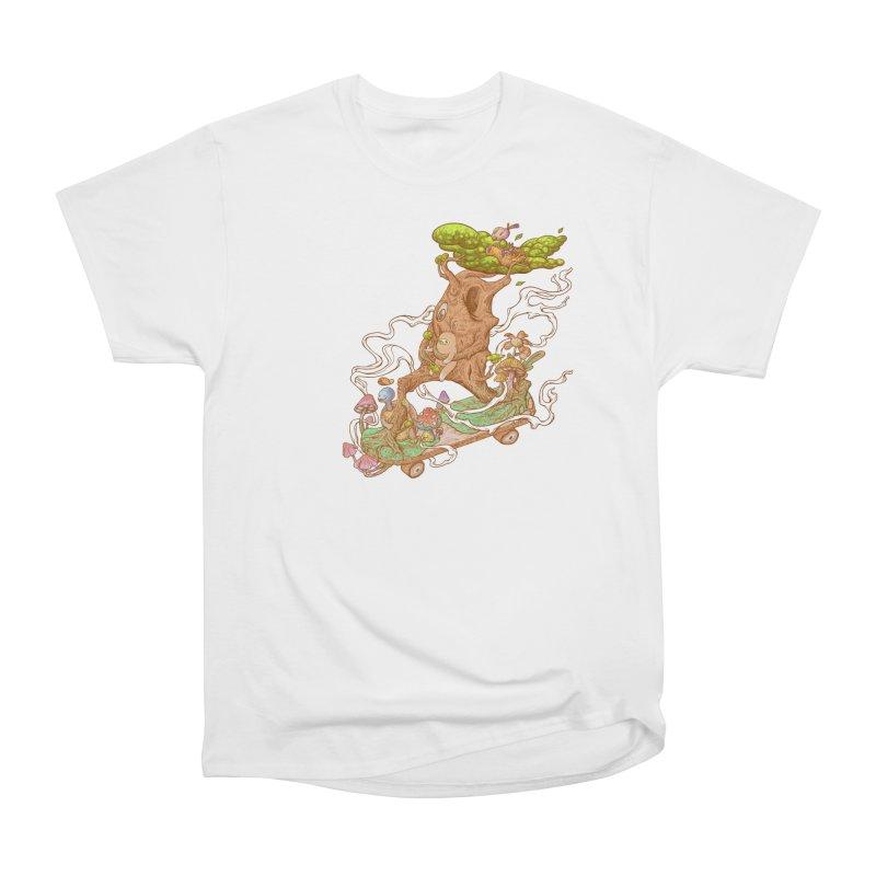 The wood holiday Women's Heavyweight Unisex T-Shirt by makapa's Artist Shop