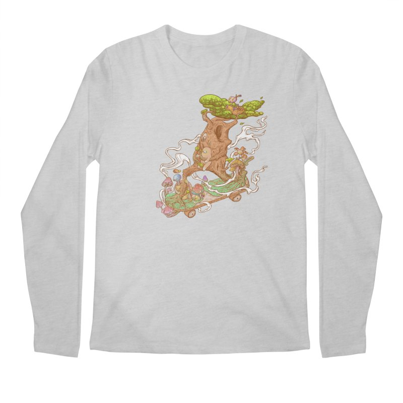 The wood holiday Men's Regular Longsleeve T-Shirt by makapa's Artist Shop