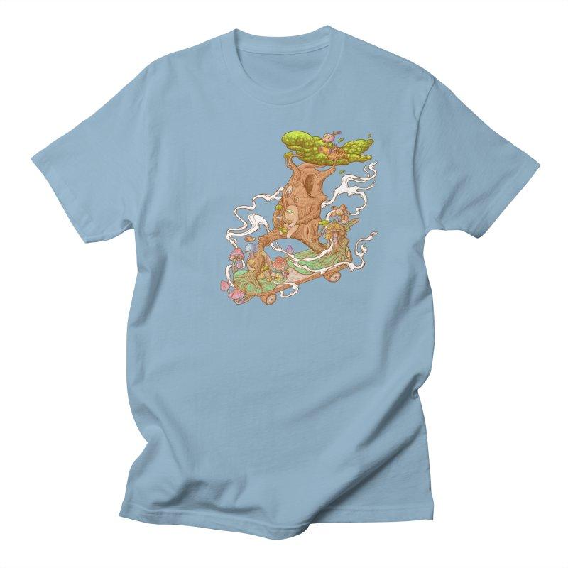 The wood holiday Men's Regular T-Shirt by makapa's Artist Shop